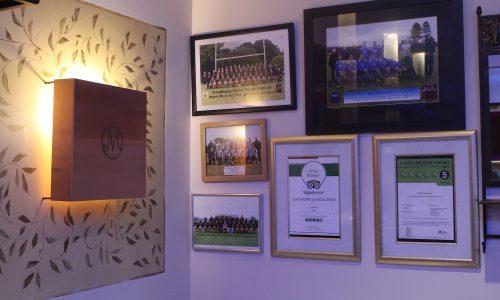 Gallery Wall | Mela Restaurant | Aylesbury